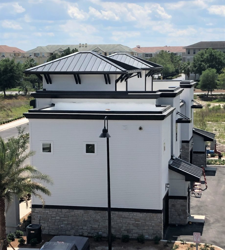 exterior of carriage home