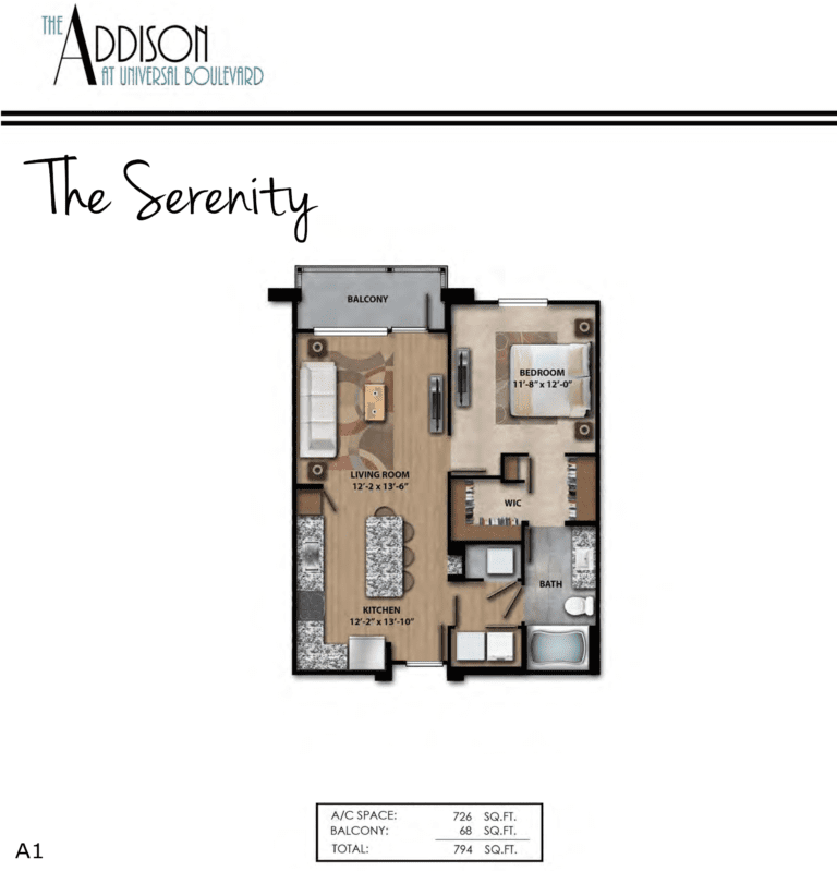 A1 Serenity 794SF