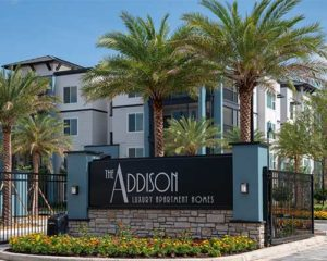 The Addison at Universal Boulevard Building Exterior