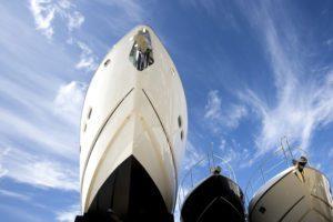 Hulls Of Yachts