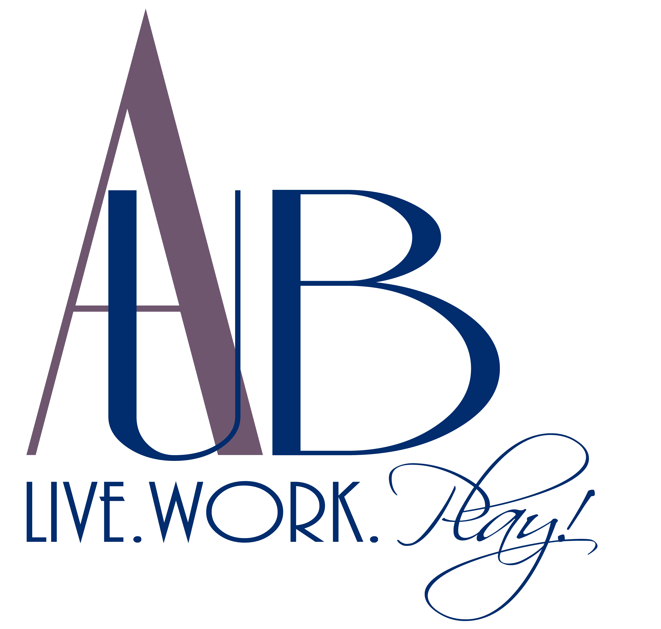 Addison logo AUB Live Work Play